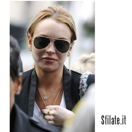 Lindsay Lohan getting financial support from father
