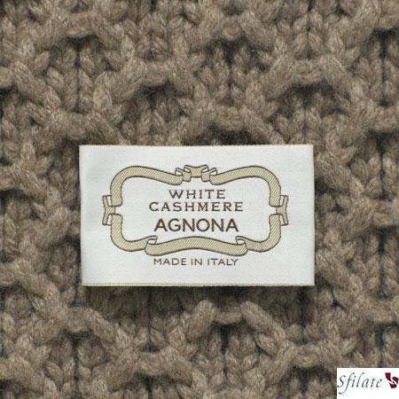 Agnona: White Cashmere. L