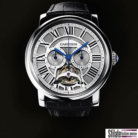 Rotonde de Cartier, il cronografo monopulsante con un regolatore di marcia tourbillon