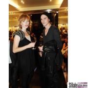 actor Vaclav Jiracek and actress Anja Geislerova - per Prada opening a Praga