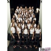 Modelle per Prada opening a Praga