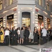 2009 -  Prada opening a Praga