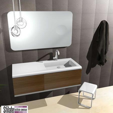 L 39 arredamento di design per i bagni firmato regia - Regia mobili bagno ...