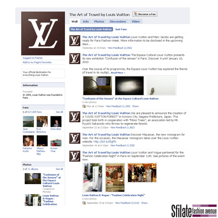 """""""The Art of Travel By Louis Vuitton"""" pagina Facebook ufficiale del brand"""