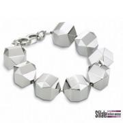 bliss: bracciale in acciaio e un diamante. Prezzo al pubblico 129,00 euro