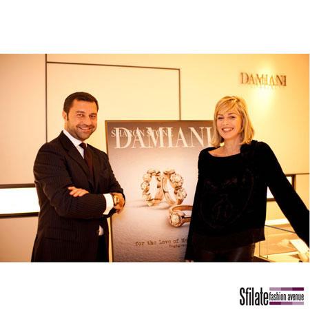 Giorgio Damiani e Sharon Stone