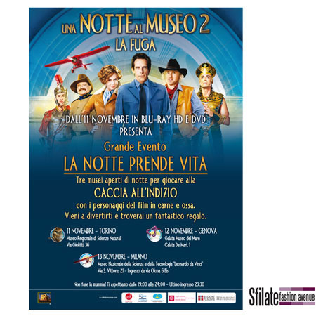 Una notte al Museo 2 - La Fuga, di Century Fox Home Entertainment (3)