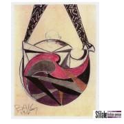 La borsa dedicata al Futurismo di Borbonese per celebrare Giacomo Balla (bozzetto)