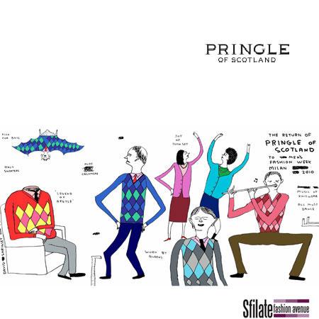 dicembre 2009 - PRINGLE of SCOTLAND annuncia il ritorno a Milano Moda Uomo