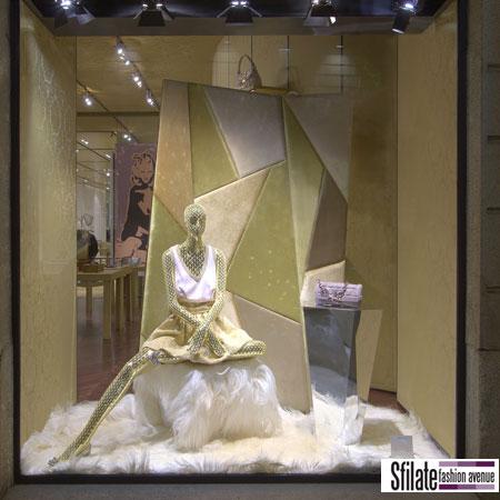 'Gem Room': installazione esclusiva per le vetrine di Natale dei negozi Miu Miu
