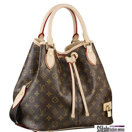 Una borsa nel classico stile di Louis Vuitton