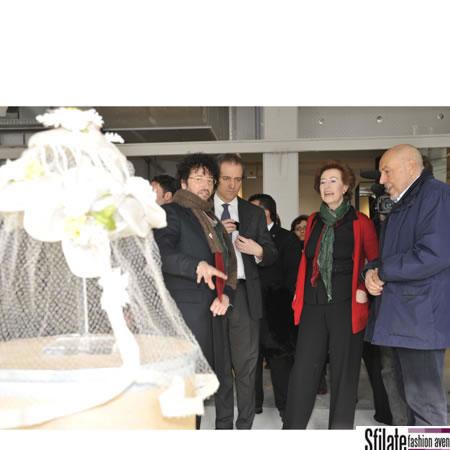 Il Sindaco di Milano, Moratti, al WHITE 2010