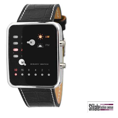 Stravagante e assolutamente originale, Binary è il nuovo modello di Zzero orologi.