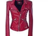 Giubbetto pelle rossa Miss Sixty collezione donna Autunno/Inverno 2010