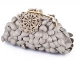 paola graglia - borsa diamante oro