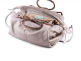 paola graglia - borsa zaffiro camoscio
