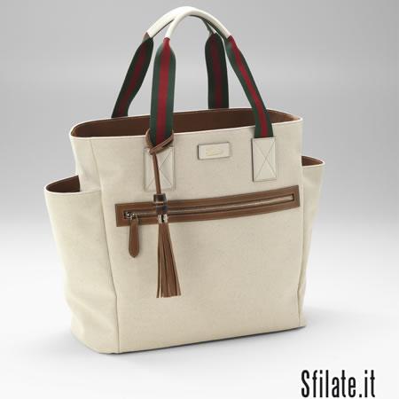 78305615ff La borsa da donna 'Mamma Bag' di Gucci sostiene l'Unicef - SFILATE