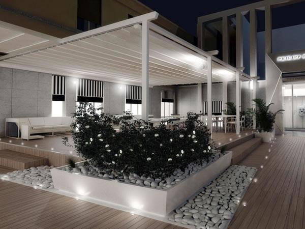 THE TERRACE è il club esclusivo del designer Philipp Plein, nel quale ha voluto creare un vero angolo paradiso nel quadrilatero d'oro della moda a Milano.