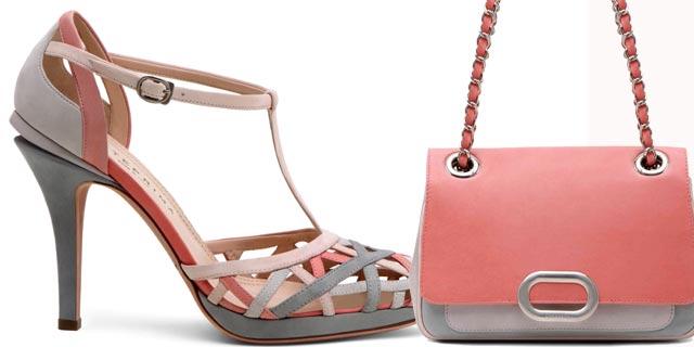 Color blocking: la nuova tendenza delle passerelle primavera-estate 2011 accende l'estate e gli accessori di Anteprima