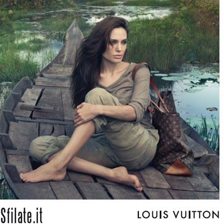 Angelina Jolie è l'ultima delle personalità eccezionali fotografate da Annie Leibovitz per la campagna Core Values di Louis Vuitton.