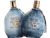 Fuel for Life Denim: una fragranza esperidata boisé per l'uomo e floreale boisé per la donna.