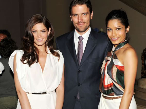 Eva, Freida With James Ferragamo