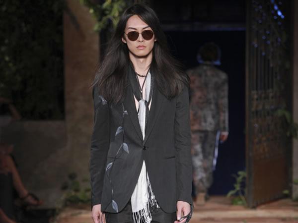 John Varvatos- sfilata milano moda uomo - primavera estate 2012.