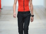 costume national- sfilata milano moda uomo - primavera estate 2012
