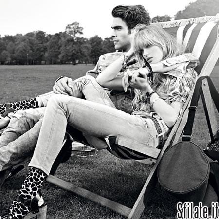 Immagini di forte impatto e decisamente glamour per Pepe Jeans London, il brand continua infatti a puntare sulla comunicazione e sull'ampliamento