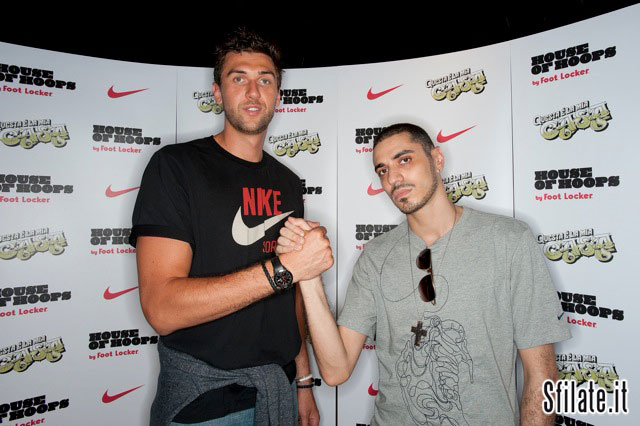 Andrea Bargnani e Marracash