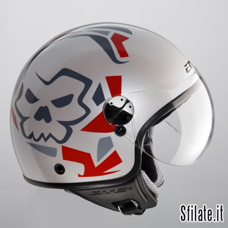 BYE B-Generation - Baad Skull Shiny white_LR