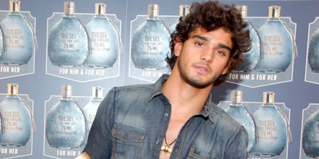 Marlon Teixeira al Denim Party a Milano