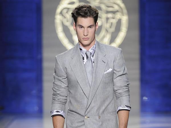 Versace - sfilata milano moda uomo - primavera estate 2012