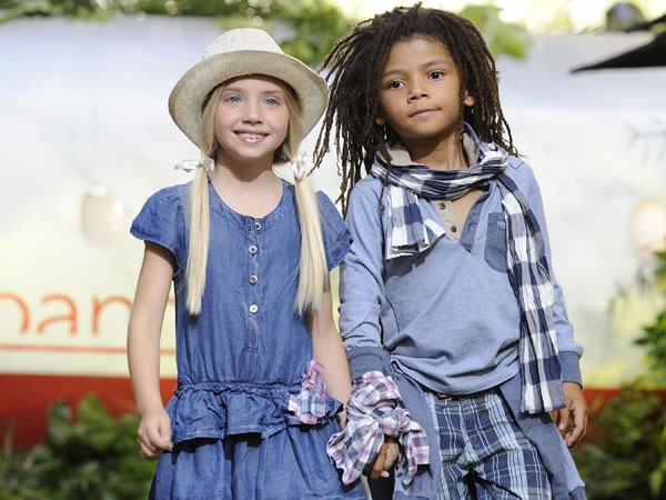 Sarabanda - moda bimbo - primavera estate 2012