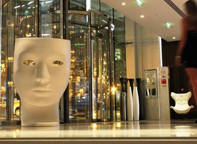 """Italian Design Exhibition Area -""""Travel Through Design"""""""