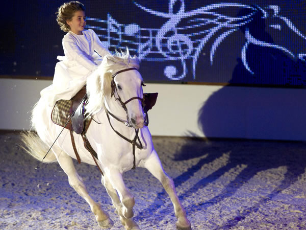 A Verona torna, dal 3 al 6 novembre 2011, l'appuntamento dello storico evento equestre che taglia il traguardo delle 113 edizioni.