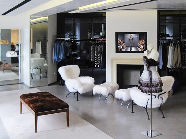 Continua l'espansione commerciale del brand Ermanno Scervino che approda a Kiev, in Ucraina.