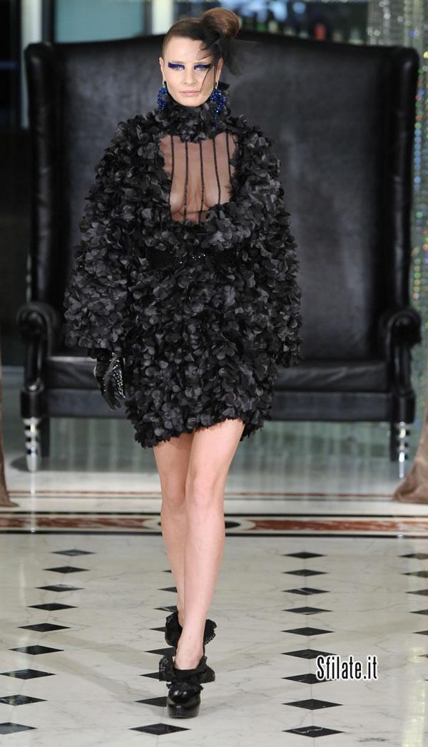 Nino Lettieri - sfilata alta moda roma - autunno inverno 2011/12