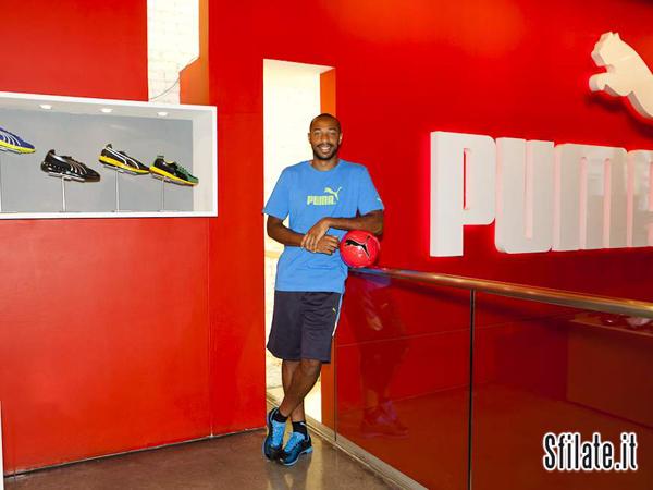 Thierry Henry ha scelto PUMA dentro e fuori dal campo