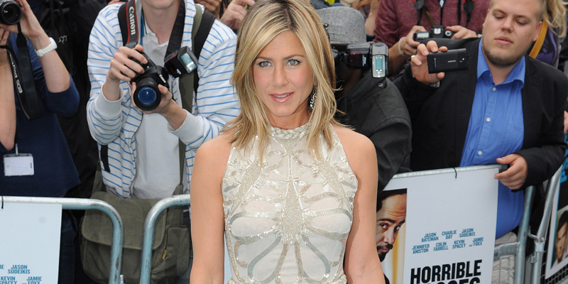 Jennifer Aniston alla prima di 'Horrible Bosses'