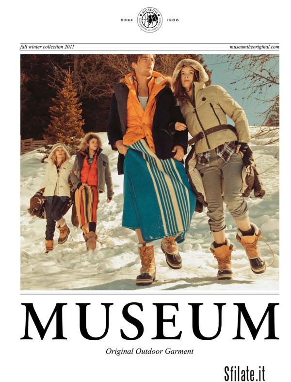 La nuova campagna MUSEUM per l'autunno inverno 2011/12.
