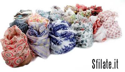 collezione di sciarpe Pyaar per la primavera – estate 2012.