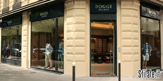 La nuova boutique Boggi Milano a Parigi