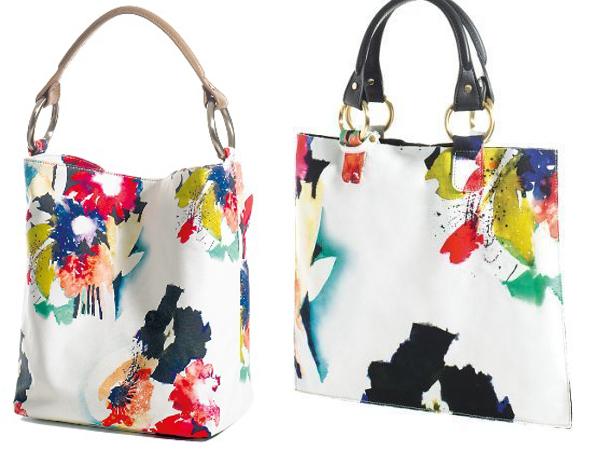 La borsa Handle di Sequia Paris si anima con fiori e colori