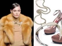 Eleganza, classe e stile si trasformano in veri incontri materici nel guardaroba della donna Brioni per il prossimo autunno - inverno 2011/12.
