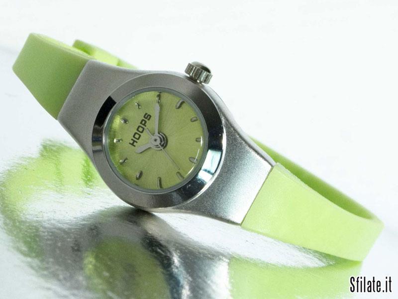 I nuovi micro orologi Hoops - Très Jolie verde