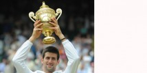 Novak Djokovic vince Wimbledon 2011 in Sergio Tacchini