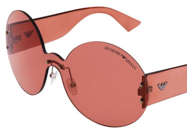 Emporio Armani Eyewear è colore puro