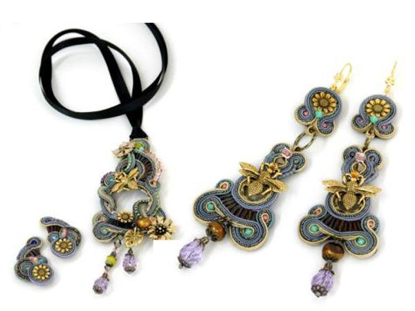 Dori Csengeri porta i giardini incantati dell'infanzia nei bijoux.