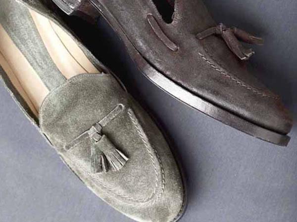 La scarpa maschile di tradizione protagonista dell'inverno 2011-12 di Roberto del Carlo.